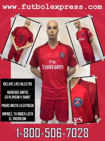 Uniforme Paris Saint Germain Visita 2016-2017