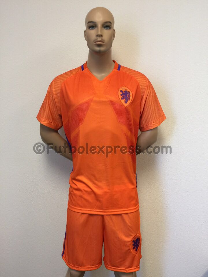 Uniforme de Futbol de Futbol Holanda Local 2016-2017