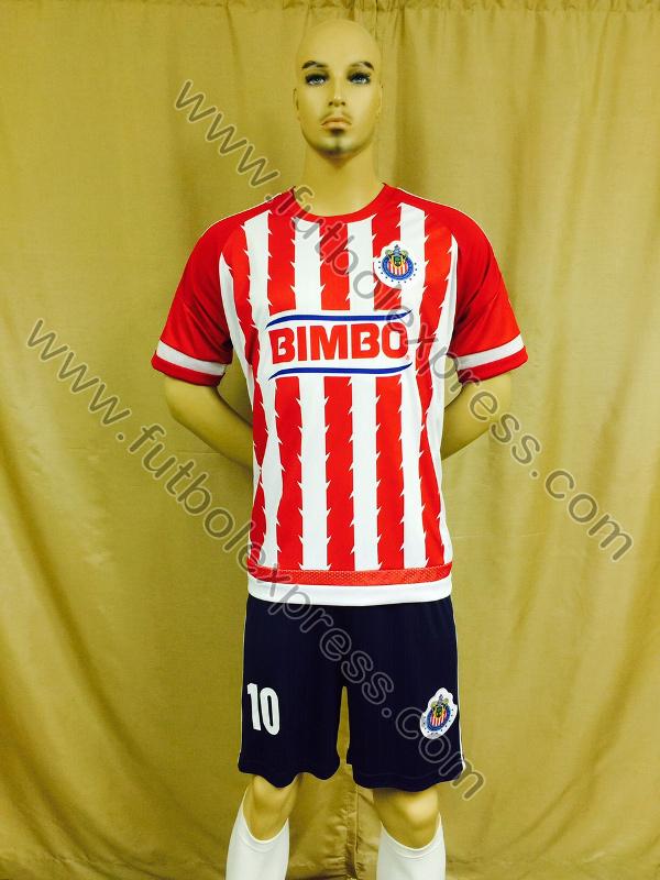 Uniforme de Futbol Guadalajara Local 2015-2016