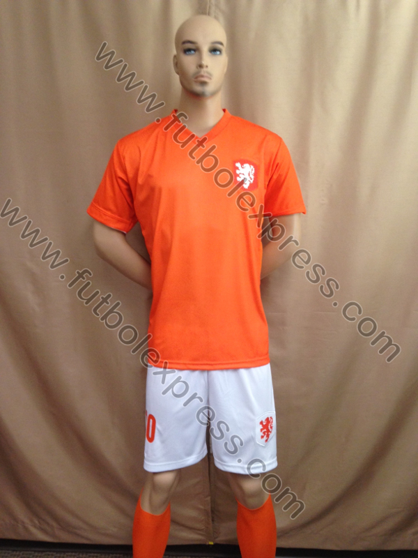 Uniforme de Futbol Holanda Local 2014