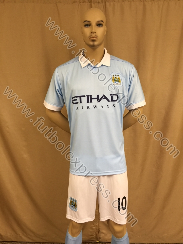 Uniforme de Futbol Manchester City Local 2015-2016