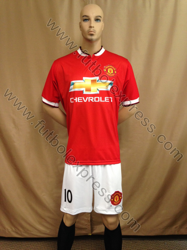 Uniforme Manchester United Local 2014-2015