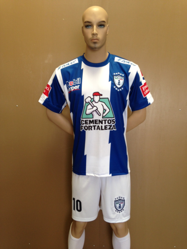 Uniforme de Futbol Pachuca Local 2013-2014