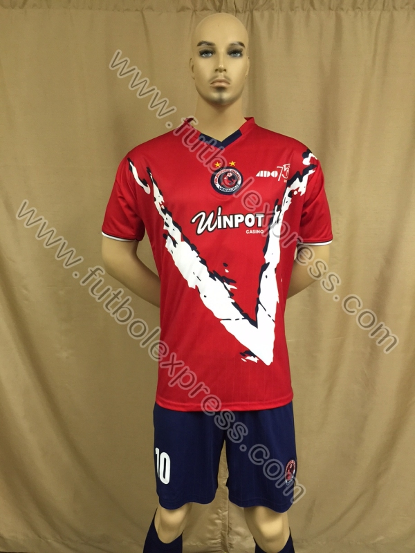 Uniforme de Futbol Veracruz Local 2015-2016