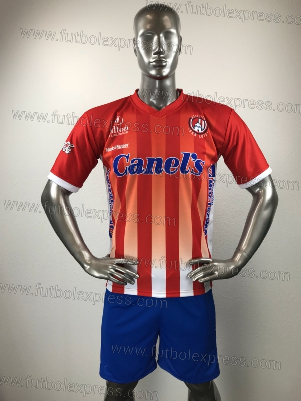 Uniforme Soccer Atletico San Luis Local 2018-19