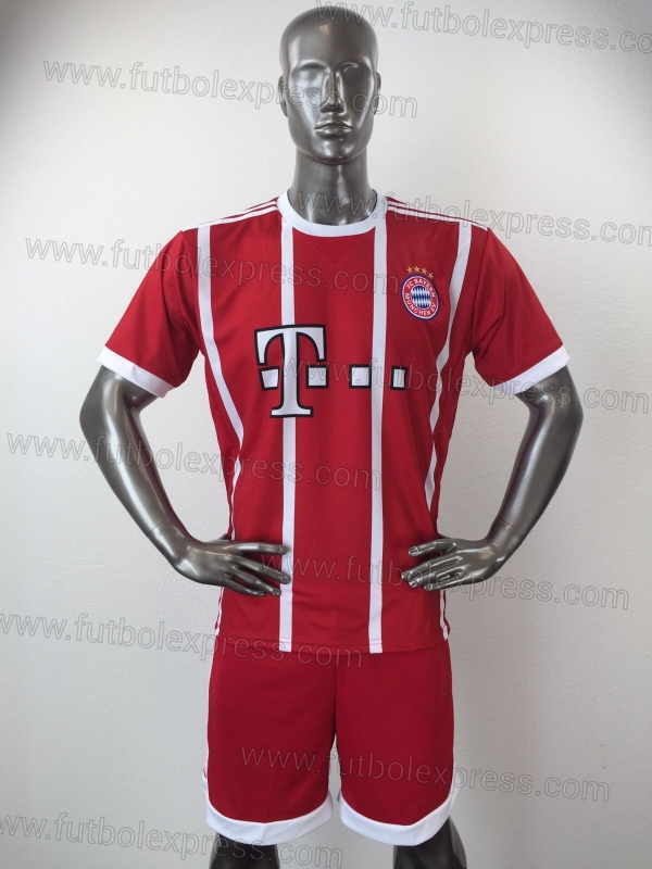 Uniforme Soccer Bayern Munich Local 2017-18