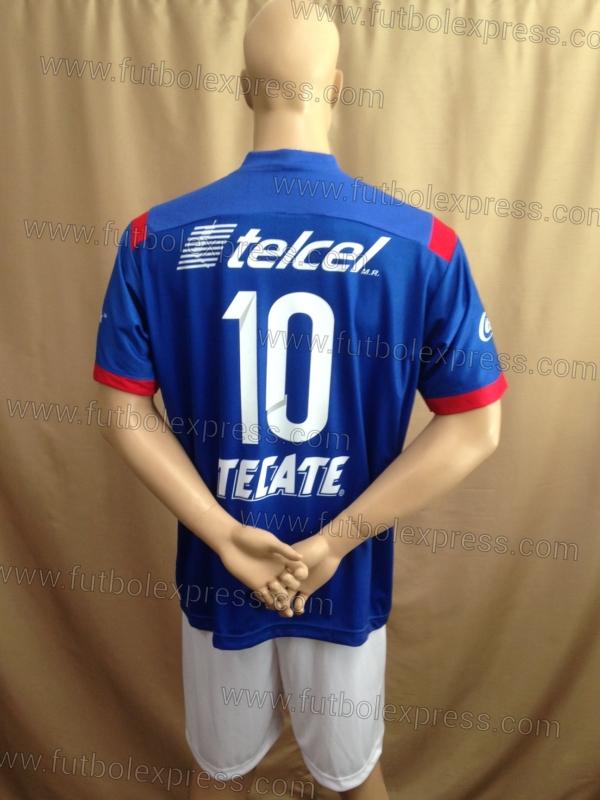 Uniforme de Futbol Soccer Cruz Azul Local 2014-15