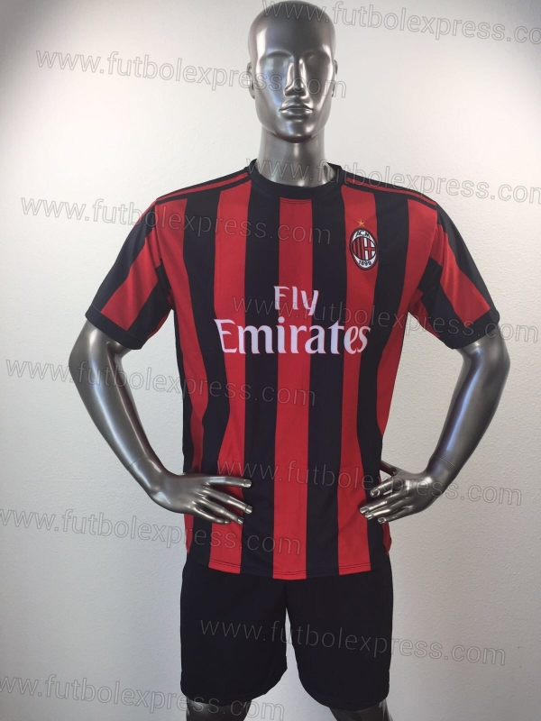 Uniforme Soccer Milan Local 2017-18