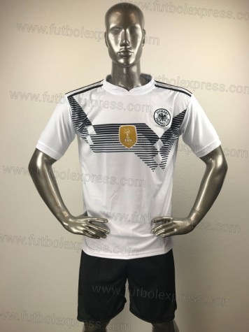Uniforme Soccer Alemania Local 2018