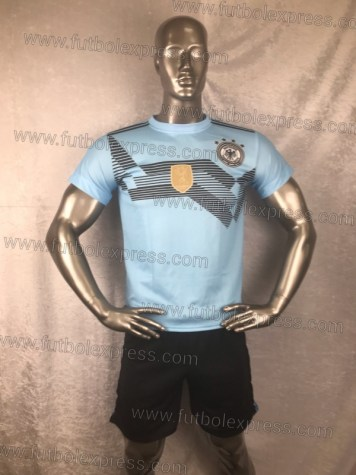 Uniforme Soccer Alemania Local 2018 Celeste
