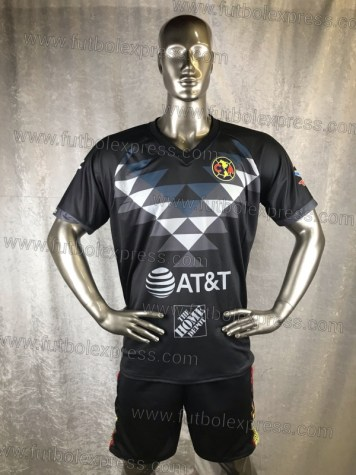 Uniforme Soccer America Local 2019-20 Negro
