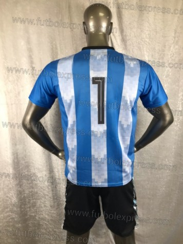 Uniforme Soccer Argentina Local 2018 Azul