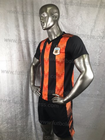 Uniforme Soccer Argentina Local 2018 Naranja