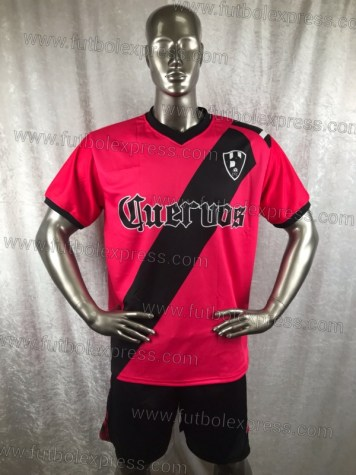 Uniforme Soccer Club de Cuervos Local T1 Rojo