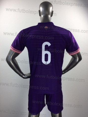 Uniforme Soccer Fiorentina Local 2017-18