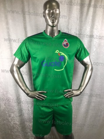 Uniforme Soccer Municipal Local 2018-19 Verde