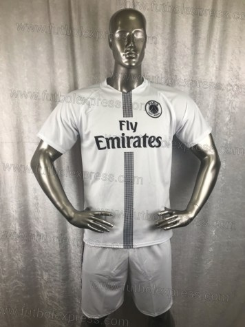 Uniforme Soccer Paris Saint Germain Blanco 2018-19