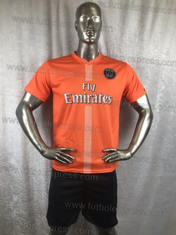 Uniforme Soccer Paris Saint Germain Naranja 2018-19
