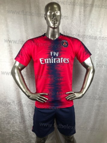 Uniforme Soccer Paris Saint Germain Local 2018-19 Rojo