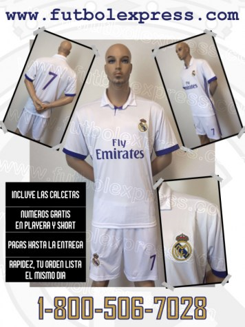 Uniforme Real Madrid Local 2016-2017