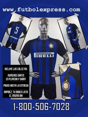 Uniforme Soccer Inter de Milan Local 2017-2018