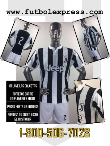 Uniforme Soccer Juventus Local 2017-2018