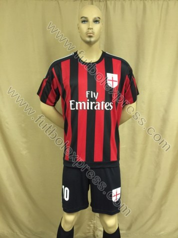 Uniforme Milan Local 2015-2016