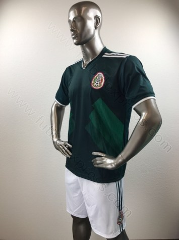 Uniforme Soccer Mexico Local 2017-2018