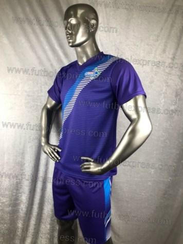 Uniforme de Futbol Soccer Guatemala Especial Azul/Morado