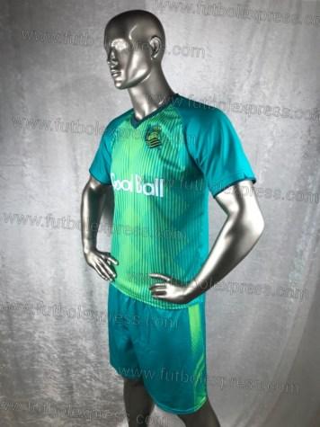 Uniforme de Futbol Soccer Real Sociedad Visita 2019-20