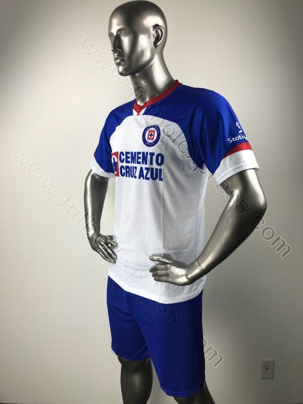 Uniforme de Futbol de Soccer Cruz Azul Visita 2018-2019