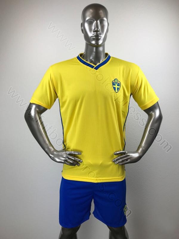 ab3f2b79d1477 Uniformes de Futbol de Seleccion de Suecia